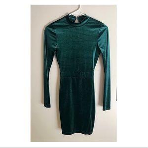 NWT Velvet Emerald Bodycon Dress